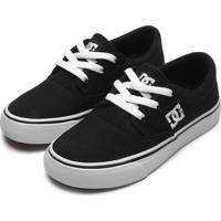 Tênis Dc Shoes Menino Flash 2 Tx La Preto