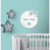 Espelho Decorativo Emoji Dormindo