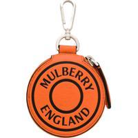 Mulberry Chaveiro Com Logo - Laranja
