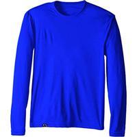 Camiseta Proteção Solar Uv50 Manga Longa – Slim Fitness Azul Royal