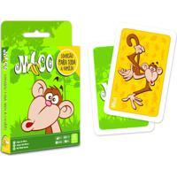 Jogo De Cartas Mico Copag Multicolorido Verde