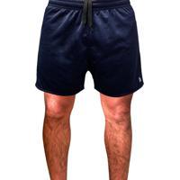Shorts Esporte Futebol Academia Com Bolso Traseiro E Bordado Ref.334 Azul Royal