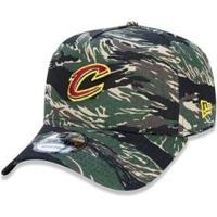 Boné 940 Cleveland Cavaliers Nba Aba Curva Snapback Militar New Era - Masculino