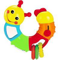 Brinquedo De Atividades - Lagarta Giratória - Antena Vermelha - Minimi