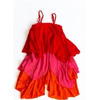 Vestido Vou De Pippa Lívia Tricolor