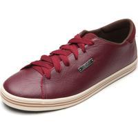 Sapatênis Coca Cola Shoes Logo Vinho