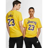 Camiseta Nike Los Angeles Lakers Dri-Fit Unissex