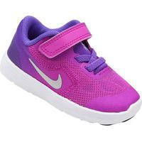Tênis Infantil Nike Revolution 3 - Masculino-Roxo+Rosa