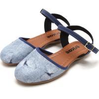 Sandália Tricae Menina Azul