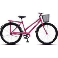 Bicicleta Colli Fort Aro 26 Reforçada C/ Bagageiro - Unissex