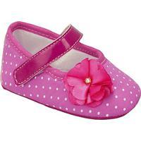 Sapato De Poã¡- Pink & Branco- Griffgriff