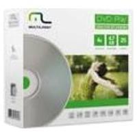 Midia Dvd-Rw Vel. 04X - 25 Un. Envelope Impresso Em Caixa Multilaser - Dv062
