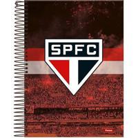 Caderno Foroni São Paulo Escudo 1 Matéria
