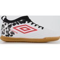 Chuteira Umbro Tigra Mid Futsal Branca