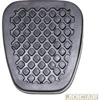 Capa De Pedal - Fit 2003 Até 2014 - Freio/Embreagem - Preta - Cada (Unidade)