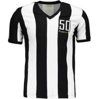 Camisa Retrômania Alvinegro Mg 1950 Masculina - Masculino