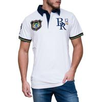 Polo Kevingston Candem Ii Rugby Brasil Manga Curta