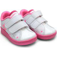 Tênis Bee Happy Dock Classic Star Feminino - Feminino-Branco+Pink