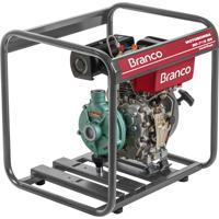 Motobomba A Diesel Branco Bd-715Topbr 5.0Cv Partida Manual