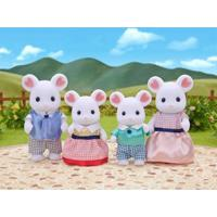 Sylvanian Families Família Ratos Marshmallow Epoch - Unissex-Incolor