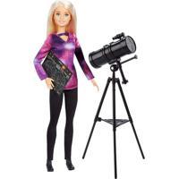 Boneca Barbie - Barbie National Geographic - Astrofísica - Mattel Mattel