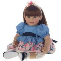 Boneca Laura Doll Lorena - Ruivo & Verde- 47X20X13Cmshiny Toys