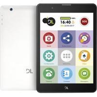 """Tablet Dl Tx384Pre Mobi Tab Preto Tela 7"""" 8Gb Wi-Fi Dual Chip"""