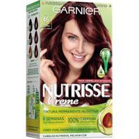 Coloração Nutrisse Garnier 46 Borgonha Vermelho - Unissex