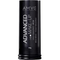 Pó Compacto Fps 50 Advanced Make Up Amyc Uniformizador Bege Claro 12G - Unissex-Incolor