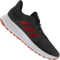 Tênis Adidas Duramo 9 - Masculino - Cinza Esc Mescla