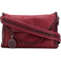 Stella Mccartney Bolsa Tiracolo Falabella Mini - Vermelho