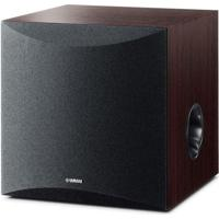 "Subwoofer Yamaha 8"" 50W Ns-Sw050 Walnut"
