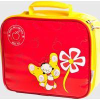 Lancheira Kidsplash! Infantil Bell Fly Vermelha - Tricae