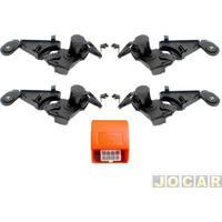 Trava Elétrica - Alternativo - Tragial - Corsa Hatch/Sedan - 2003 Em Diante - 4 Portas - Jogo - Gm4Mn-Paktgmmn002