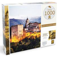 Quebra-Cabeça - Alhambra - 1000 Peças - Grow - Unissex-Incolor