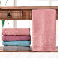 Toalha De Banho Luna Rosa Antigo - Bene Casa