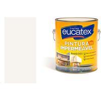 Tinta Pintura Impermeável 3,6 Litros Branco - Eucatex - Eucatex