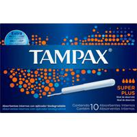 Absorvente Interno Tampax Super Plus 10 Unidades