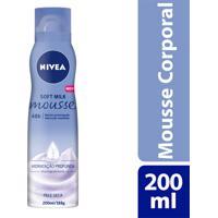 Hidratante Corporal Nivea Soft Milk Mousse Pele Seca 200Ml