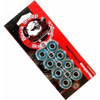 Kit Com 8 Rolamentos De Skate E 4 Espaçadores Black Sheep Abec 3 - Unissex