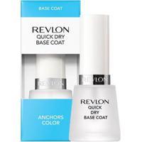 Esmalte Com Tratamento Quick Dry Base Coat Revlon 50G