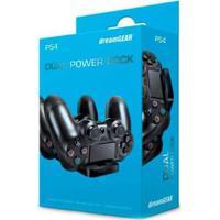 Carregador Dreamgear Para 2 Controles Dual Power Dock - Ps4 - Unissex