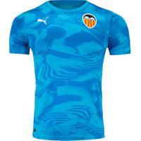 Camisa Valencia Iii 19/20 Puma - Masculina - Azul