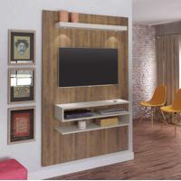 Painel Para Tv 47 Polegadas Nexus 120 Cm Pinho E Off White