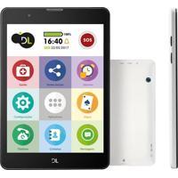 "Tablet Dl Tabfácil Tela 7.85"" 3Gb Bluetooth Android 7"