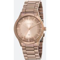 Relógio Feminino Lince Lrr4593L-R1Rx Analógico 5Atm