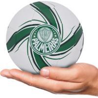Minibola De Futebol De Campo Do Palmeiras Fan 2020 Puma - Branco/Verde
