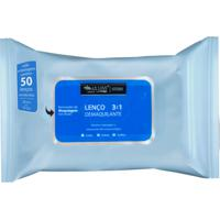 Lenço Demaquilante 50 Max Love Ld50 Azul