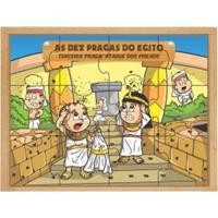Religiosos - Kit Quebra Cabeça 10 Pragas Do Egito - Carlu
