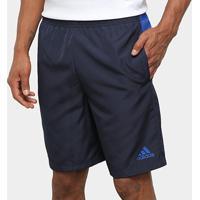Short Adidas Colorblock Woven Masculino - Masculino-Marinho+Azul